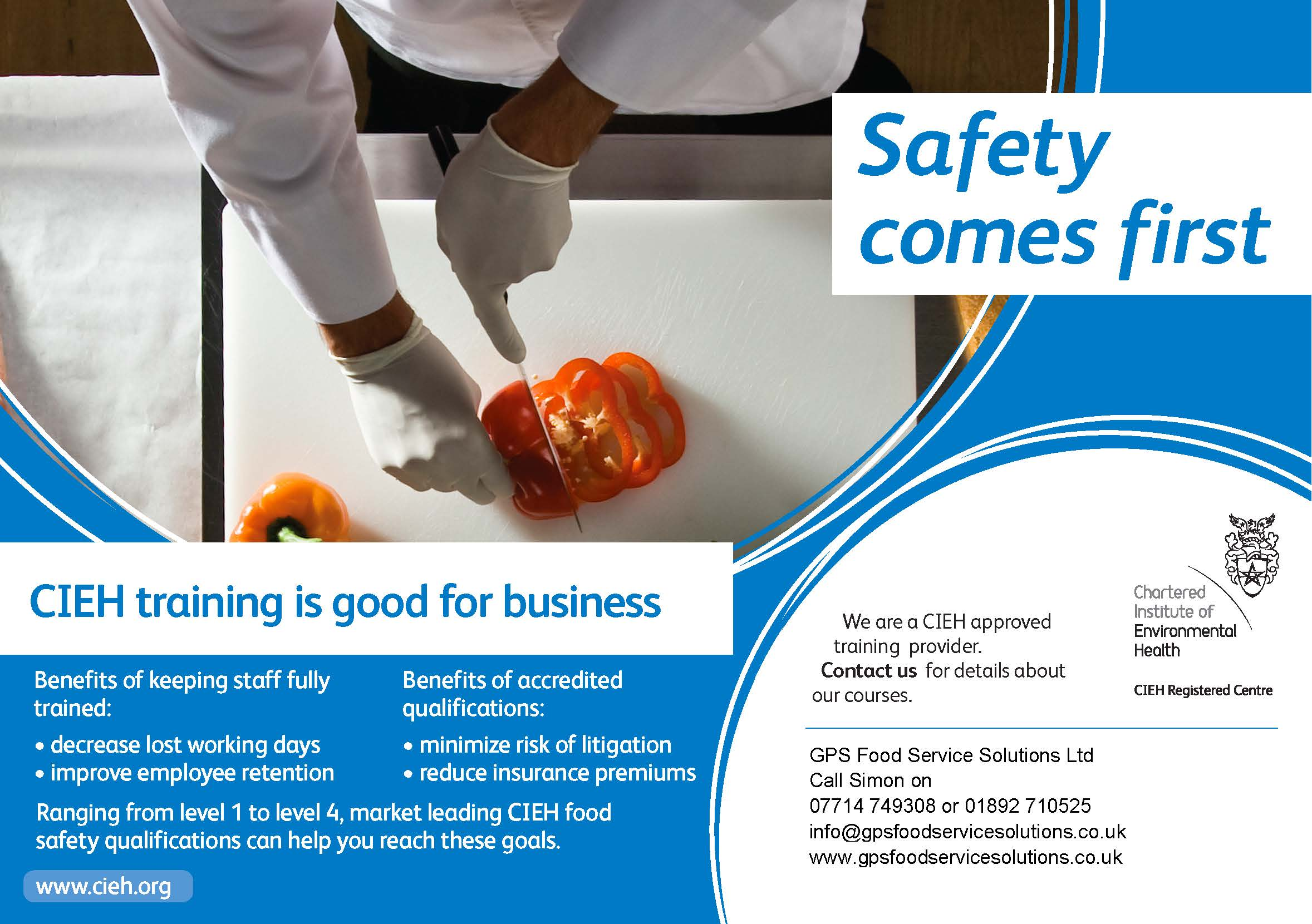 Key Benefits of Food Hygiene Training | GPS Food Service